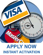 Apply for a merchant account now!
